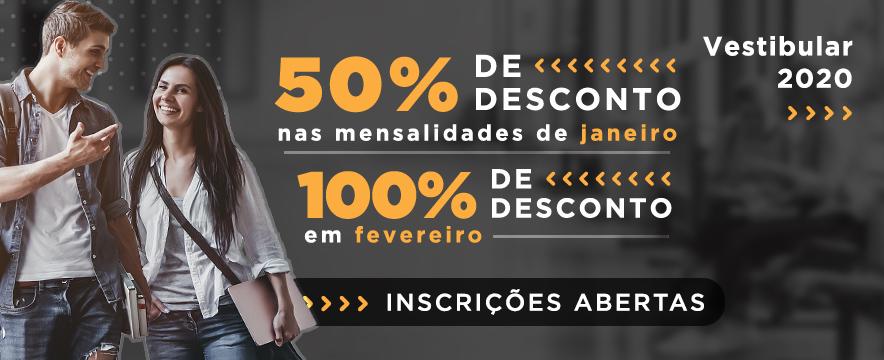 50% de Desconto 13/01/2020