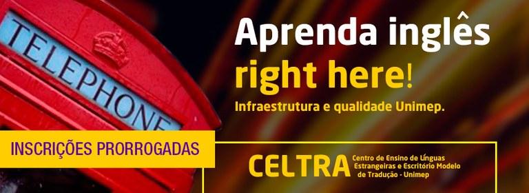 Celtra - Inscrições Prorrogadas