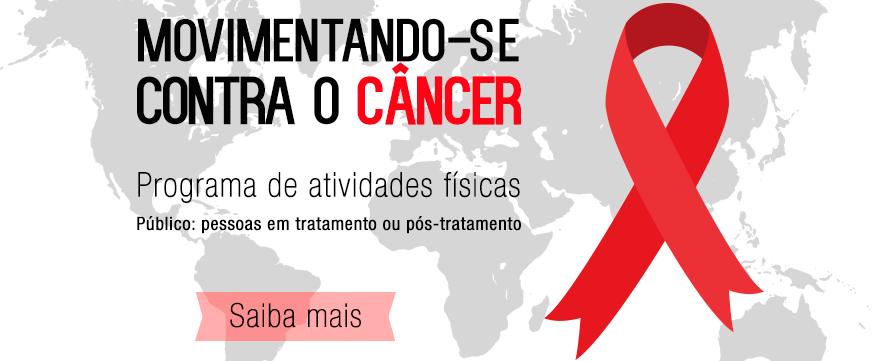 Movimentando-se contra o câncer