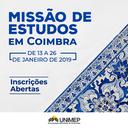 Instituição abre vagas para Missão de Estudos em Portugal