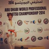 Aluno do Colégio Americano conquista medalha de prata em Campeonato Mundial de Jiu Jitsu