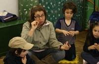 Alunos(as) da Educação Infantil aprendem sobre a Gripe A