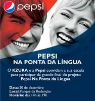 Alunos(as) do Americano participam da final do Pepsi na ponta da língua
