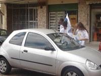 Americano participa da ação Escola Urgente para conscientização no trânsito