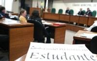 Americano participa da Sessão Plenária do Estudante na Câmara de vereadores