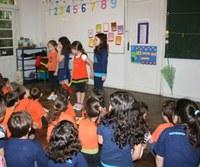 Americano recebe alunos(as) da Escola Ser Criança