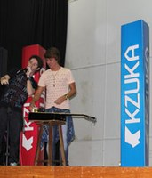 Americano recebe cantor Vitor Kley