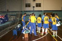 Americano recebe equipe infantil de futsal da Austrália