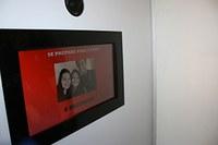 Americano recepciona alunos com músicas e cabine de fotos no intervalo