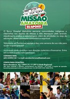 Barco Hospital Missionário realiza ações comunitárias no Amazonas