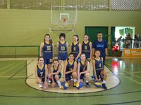 Basquete feminino sub-14 é 6º colocado nos Jogos Escolares da Juventude