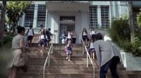 Colégio Americano serve de cenário para gravação de comercial