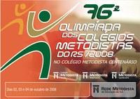 Contagem regressiva para a 76ª Olimpíada Metodista