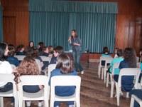 Deputada Maria do Rosário palestra no Colégio Americano
