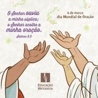 Dia mundial da oração é nesta sexta-feira (06/03)