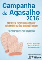 Edição 2015 da 'Campanha do Agasalho' acontece durante o mês de junho no Americano