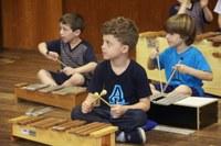 Educação Infantil realiza apresentação da Oficina de Música