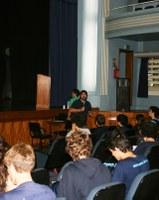 ENEM e Vestibular são temas de Palestra para estudantes do 3º Ano do EM