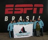 Equipe de futebol do Americano conquista 3º lugar na Copa Jetix