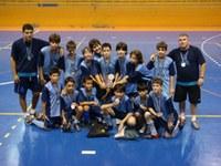 Equipe de futsal pré-mirim do Americano é vice-campeã do II Anchieta Cup
