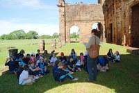 Estudantes do Americano fazem excursão para as Missões Jesuíticas