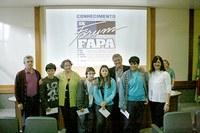Estudantes do Americano recebem prêmio no IX Fórum Fapa