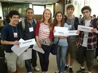 Estudantes do Colégio Americano participam com sucesso do UFRGS MUNDI