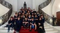 Estudantes do Colégio Americano visitam o Centro Histórico