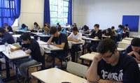 Estudantes finalizam o Simulado ENEM 2015