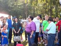 Festa da Família do Americano reúne mais de 500 pessoas na Redenção