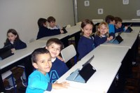 IPADs inovam as aulas do 1º ano do Ensino Fundamental