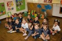 """Nível 1 da Educação Infantil expõe trabalhos com base no livro """"Os Animais Falantes"""""""