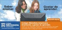 Rede Metodista lança campanha de matrículas para os colégios Americano, Centenário e União