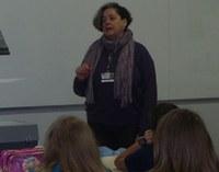 Vice-diretora realiza palestra sobre Egito para 5ª Série
