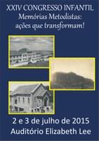 XXIV Congresso Infantil acontece nos dias 2 e 3 de julho