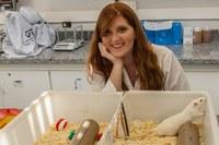 Aluna de biologia desenvolve pesquisa sobre o comportamento de ratos