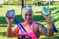 Aluna de educação física, aos 50 anos, é destaque no powerlifting