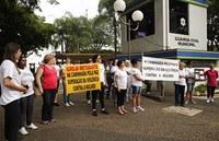 Alunas de engenharia de alimentos participam da Caminhada pela Paz