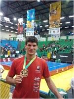 Aluno de ed. físca conquista bicampeonato brasileiro de kung fu
