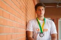 Aluno de eng. mecânica reforça a equipe de atletismo da Unimep