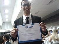 Aluno de eng. química é premiado pelo Instituto de Engenharia de SP