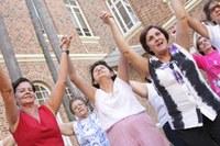 Alunos apresentam danças circulares em Piracicaba e Santa Bárbara