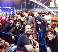 Alunos da FCI visitam os estúdios da Rede Globo em São Paulo
