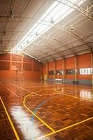 Alunos de educação física contam com espaços remodelados