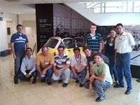 Alunos de engenharia de produção participam de palestra na Romi