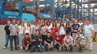 Alunos de NI e Comércio Exterior visitam o porto de Santos