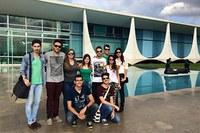 Alunos de relações internacionais acompanham encontro em Brasília