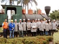 Alunos do MBA em logística empresarial visitam ArcelorMittal