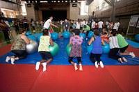 Alunos participam de evento voltado à 3ª idade