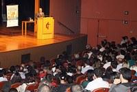 Aula inaugural lota Teatro Unimep